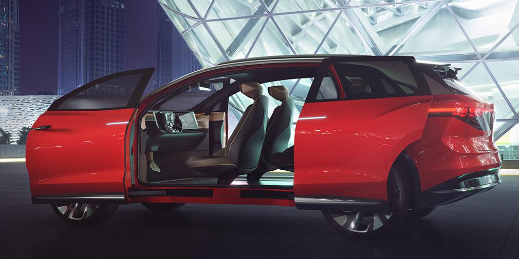 Volkswagen представил большой электрический кроссовер 2