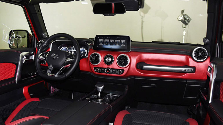 BAIC представит «клон» внедорожника Jeep Wrangler 2