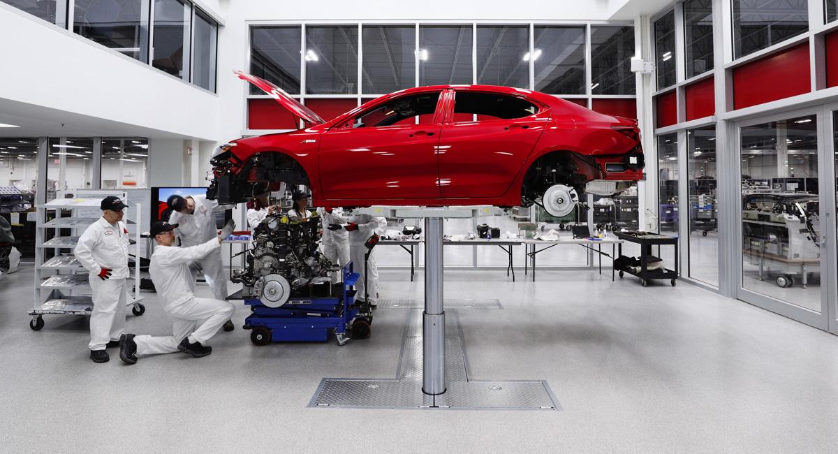 Acura TLX PMC Edition: спецверсия ручной сборки 1