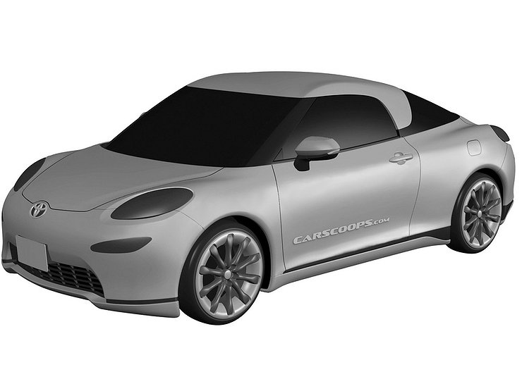 Toyota готовит новое купе странного вида 1