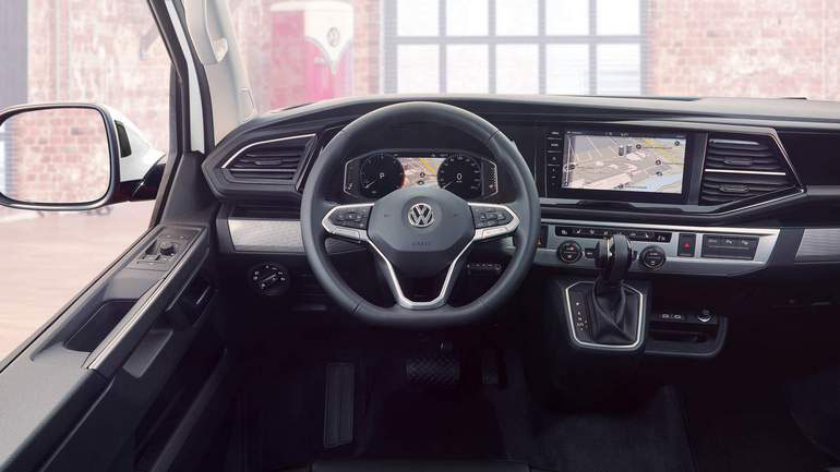 Volkswagen представил обновленный Transporter 1