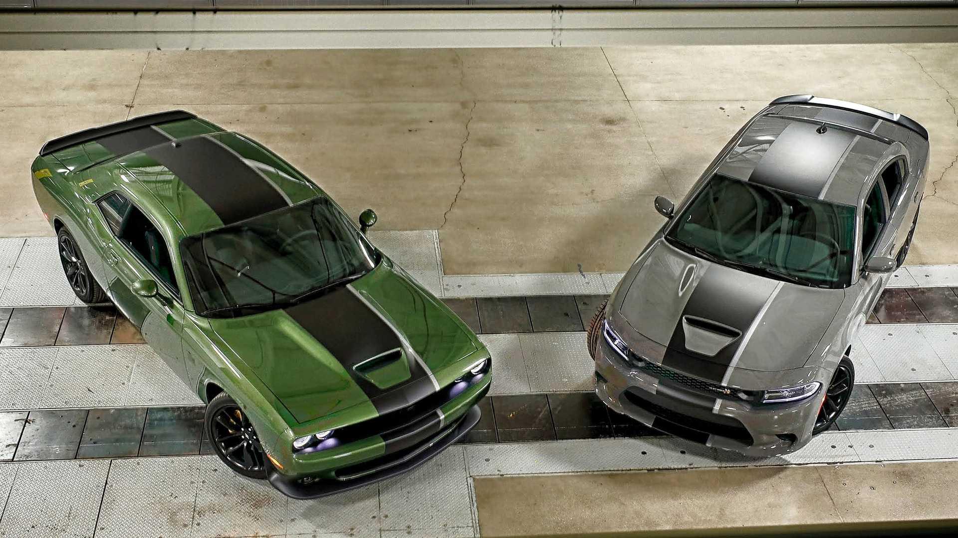 Dodge сделал «армейскую» версию Charger и Challenger 1