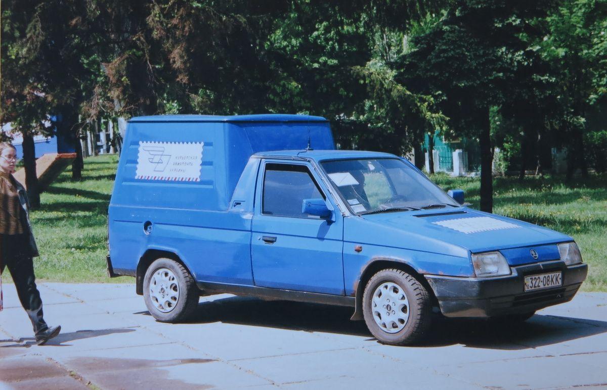 Редкий Skoda Pick-up на украинских дорогах 1