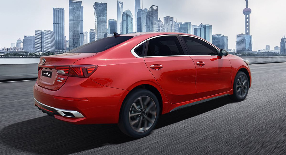 Cerato принял озверин: новый седан Kia K3 для Китая 2