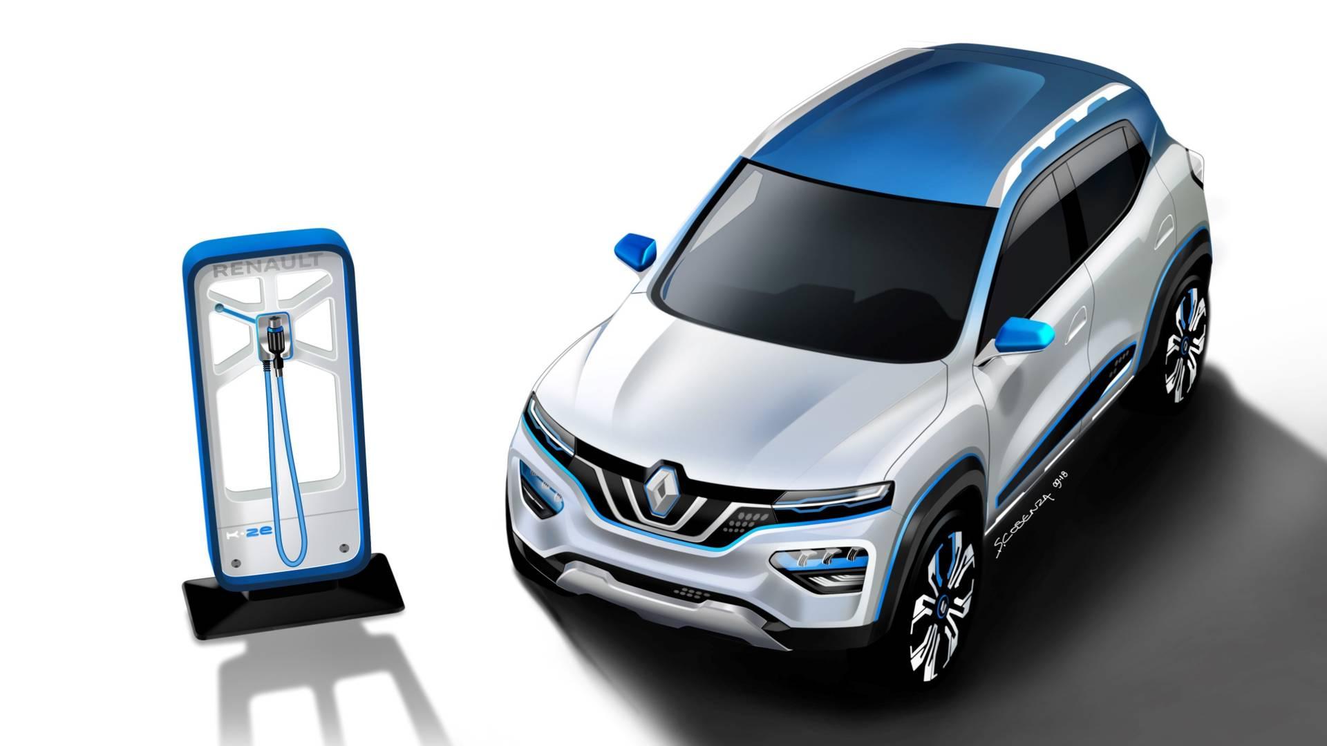 Renault представит в Китае доступный электрокроссовер City K-ZE 1