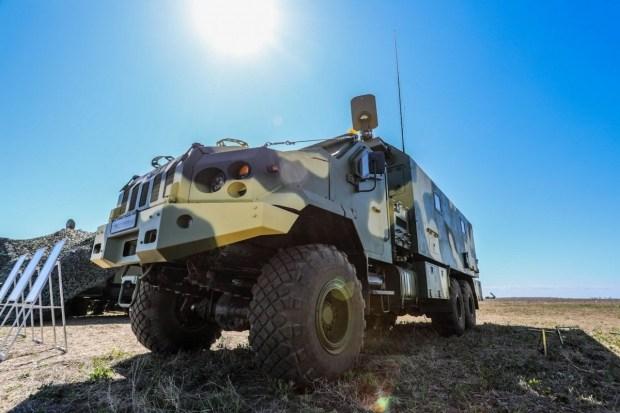 В Украине разработан новый бронегрузовик 2