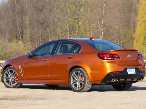 Ателье Hennessey добавило мощности седану Chevrolet SS 1