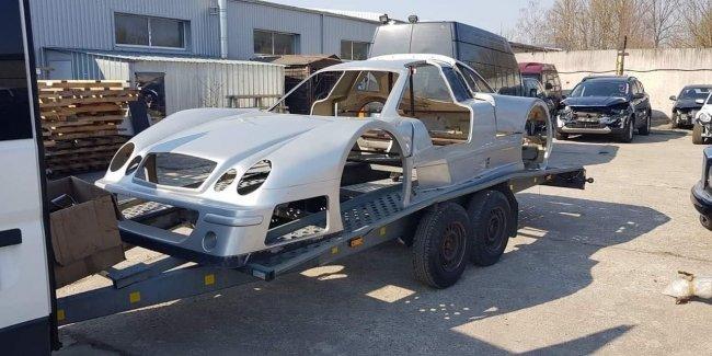В Украине решили воссоздать легендарный суперкар 1