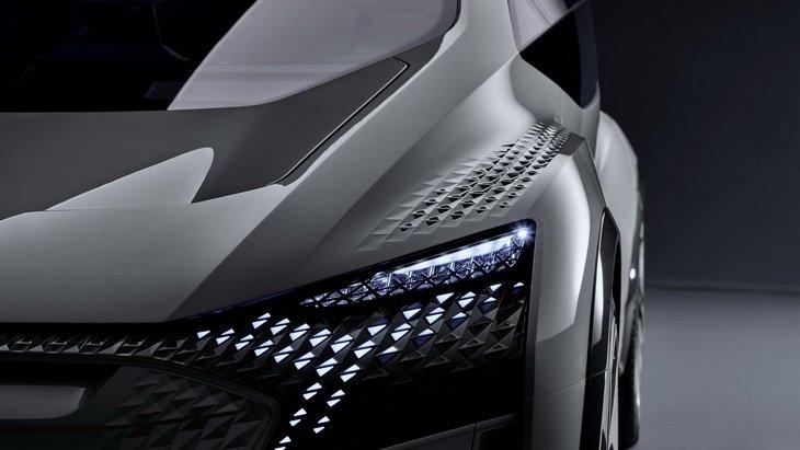 Audi представит в Шанхае концепт компактного электромобиля будущего 1