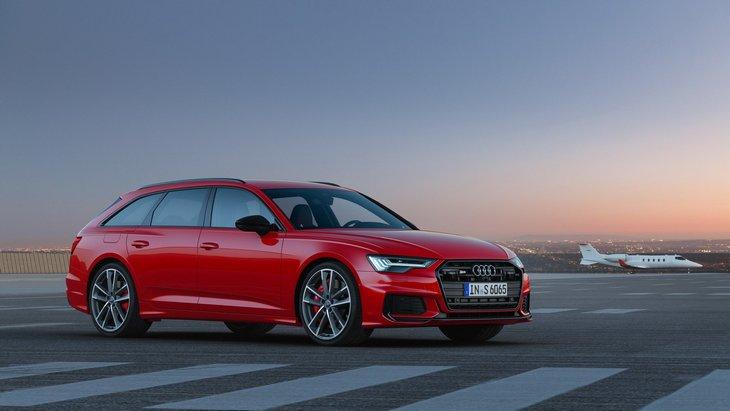 Audi показала сразу три новинки — седан S6, S6 Avanat и S7 1
