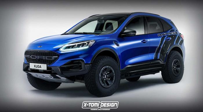 В Сети появились рендеры Ford Escape Raptor 1
