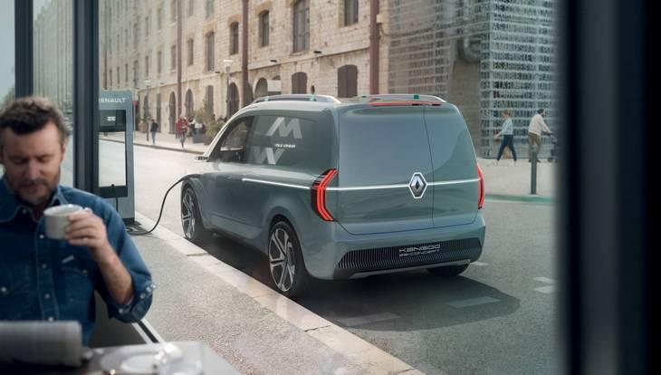 Renault сделает из Kangоo полностью электрическую версию 2