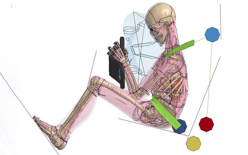 Исследование: расслабленные меньше страдают в ДТП 1