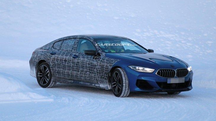 BMW выпустила первый тизер 8 Series Gran Coupe 2