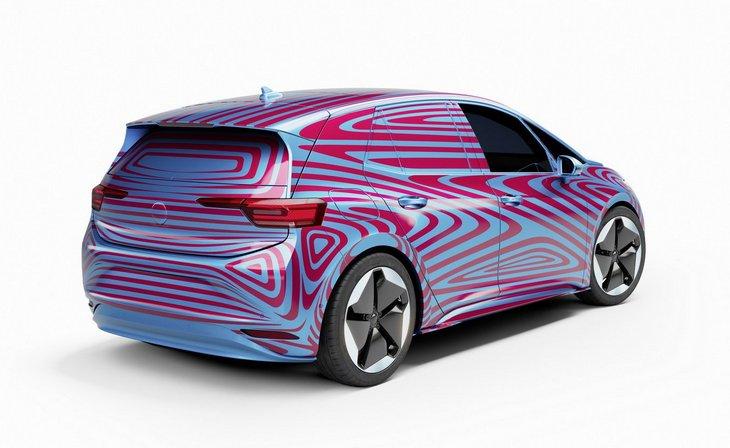 Volkswagen определился с названием для первой электрической модели семейства ID 1
