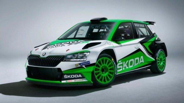 Обновленная Skoda Fabia R5 готовится к гоночному дебюту 1