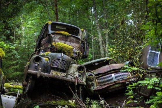 В Украине хотят построить «кладбище» для автомобилей 1