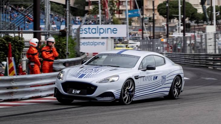Первый электромобиль Aston Martin дебютировал в Монако 1