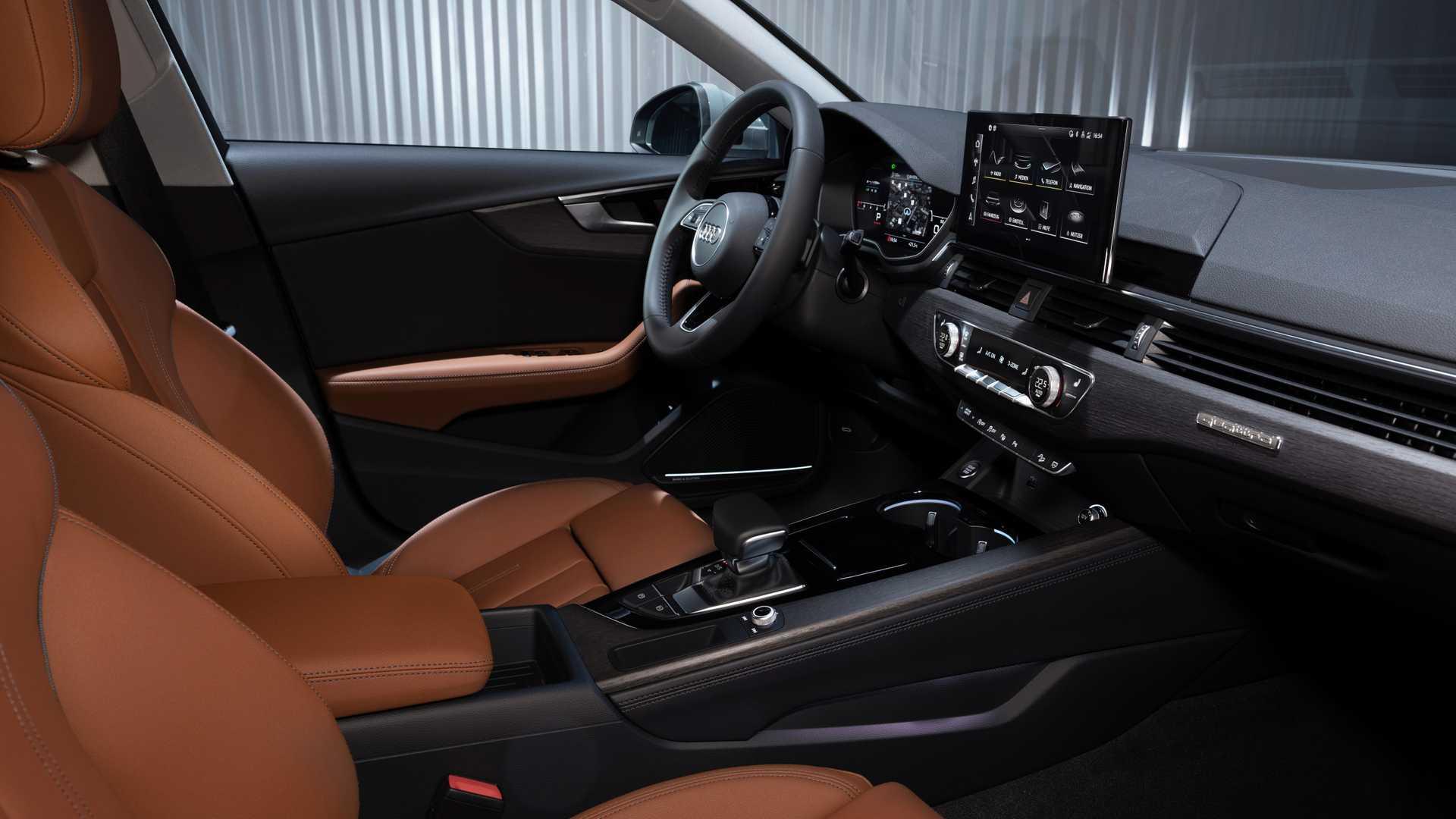 Audi показала рестайлинговое семейство A4 2