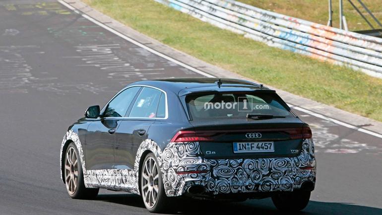 Опубликованы снимки «заряженного» Audi RS Q8 2