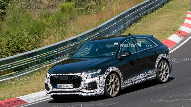 Опубликованы снимки «заряженного» Audi RS Q8 1