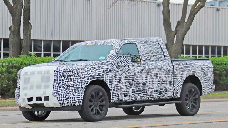 Опубликованы снимки нового Ford F-150 1