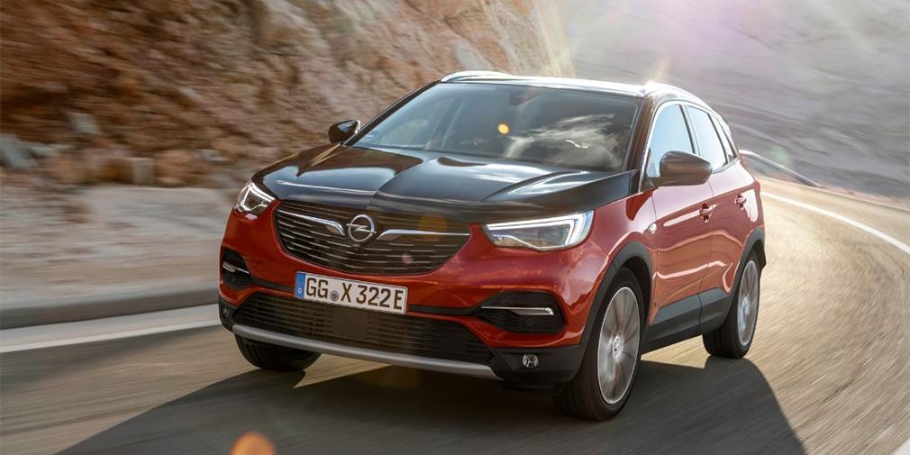 Opel выпустил первый подключаемый гибрид 1