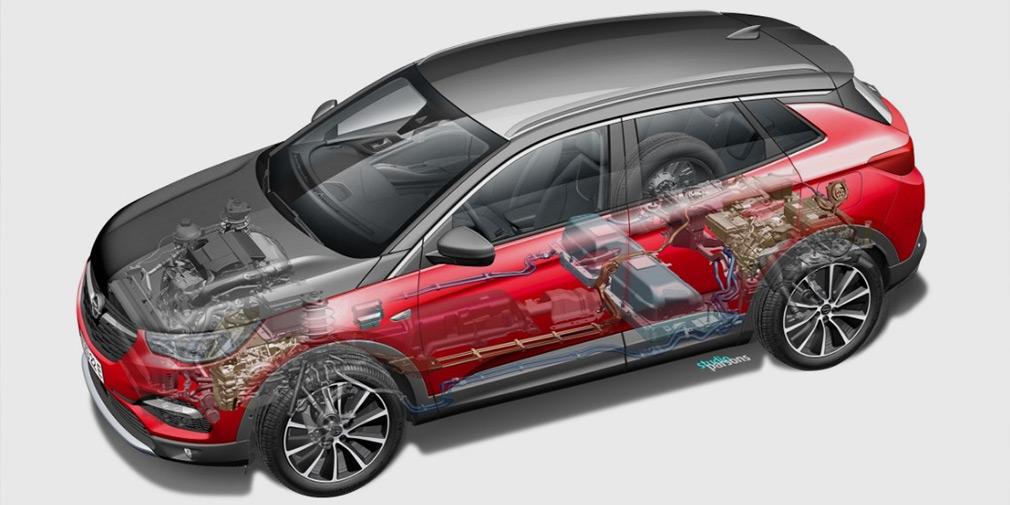 Opel выпустил первый подключаемый гибрид 3