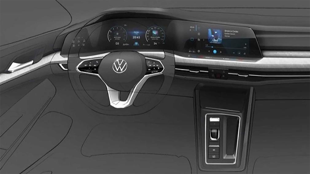 Volkswagen раскрыл внешность нового Golf 2