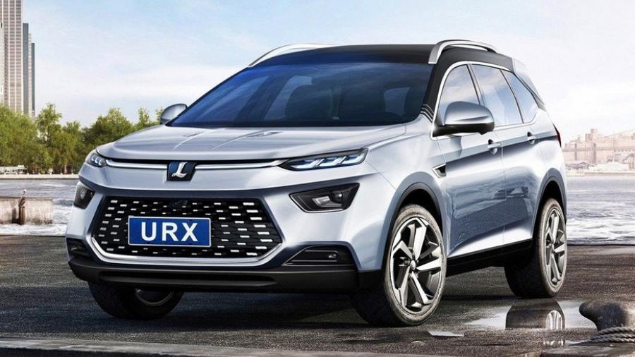 Luxgen представил новый паркетник URX 1