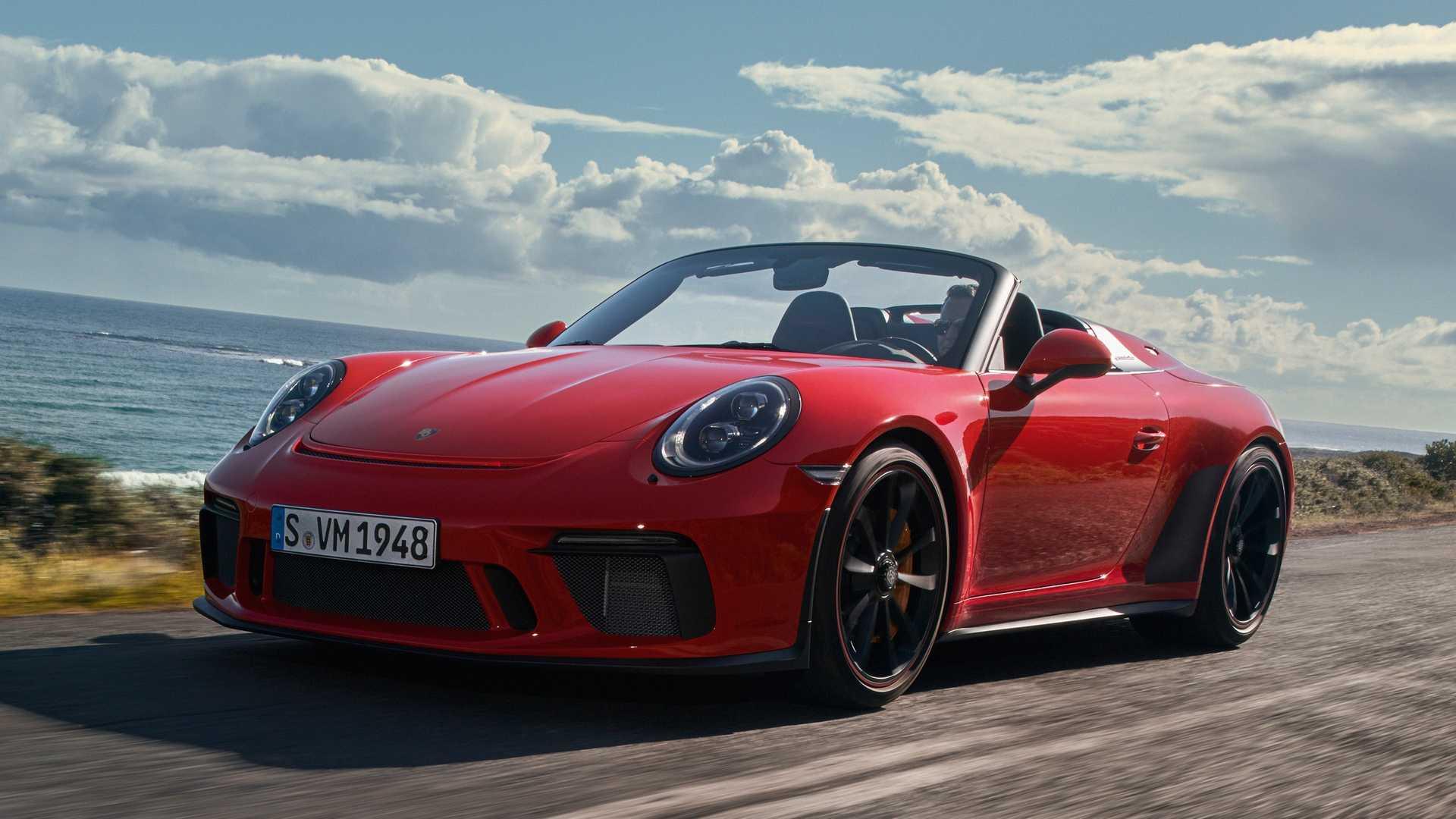 Porsche представил серийный 911 Speedster 1