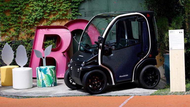 BIRO O2 стал единственным электромобилем из переработанного пластика 1