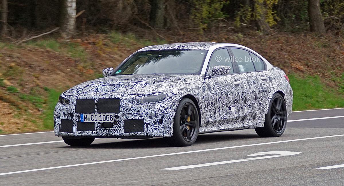 Новый BMW M3 перейдет на полный привод 1
