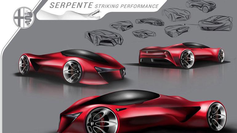 Студенты разработали дизайн будущего статусного автомобиля FCA 1