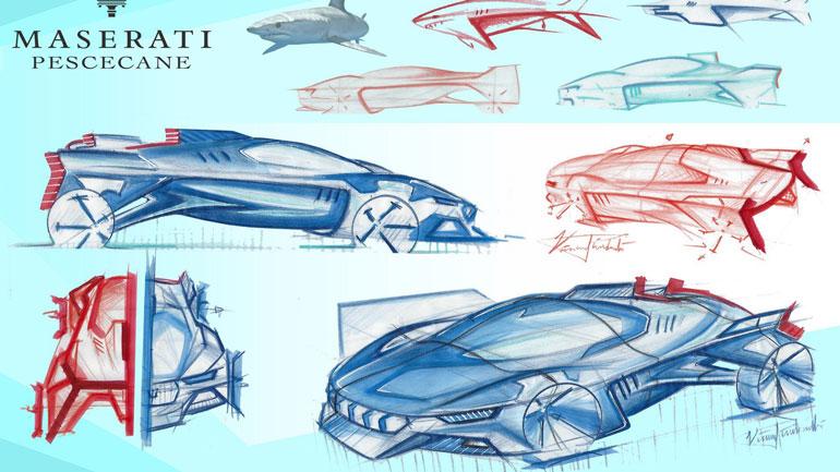 Студенты разработали дизайн будущего статусного автомобиля FCA 3