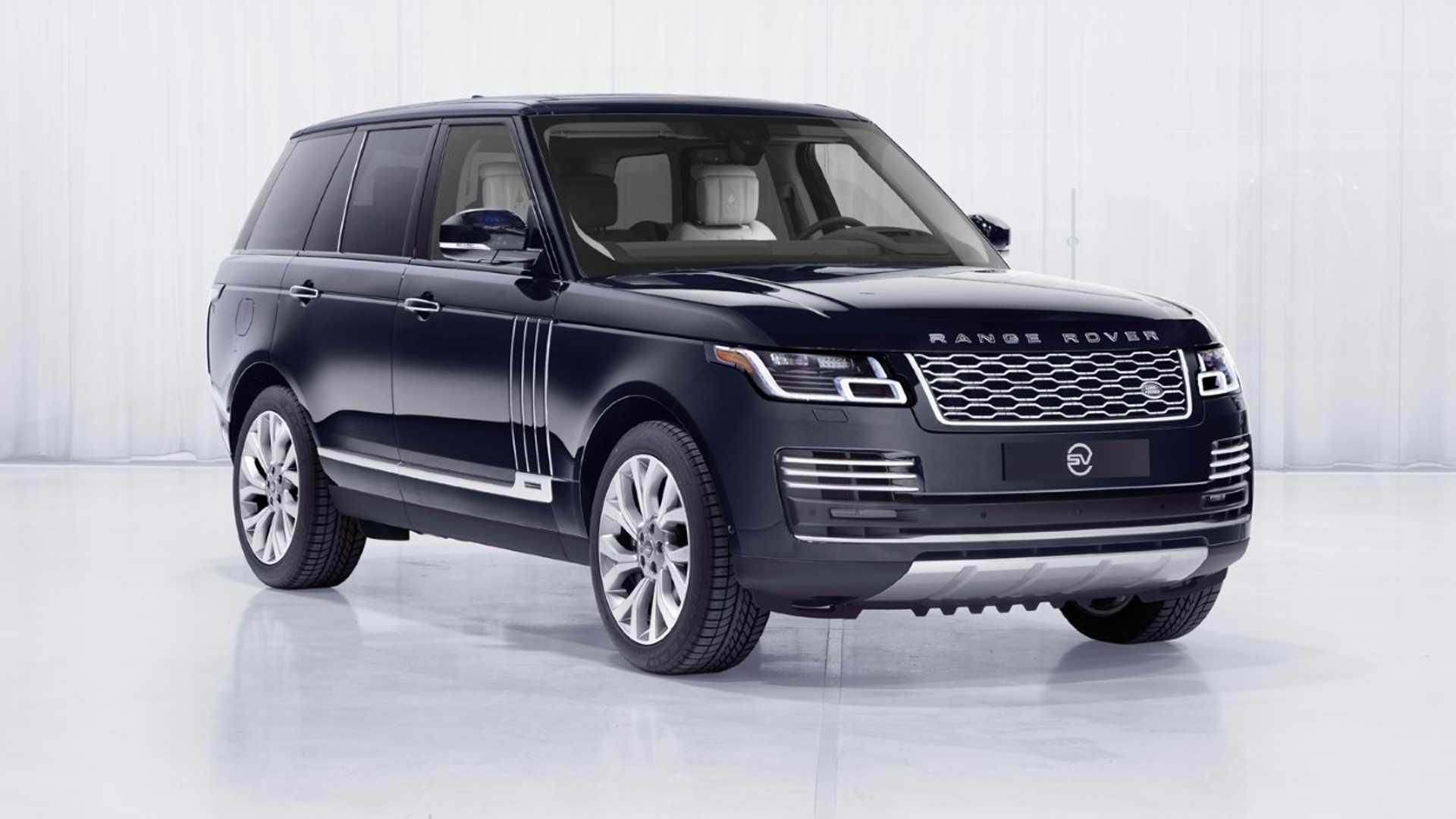 Внедорожники Range Rover выйдут специальной серией для астронавтов 1