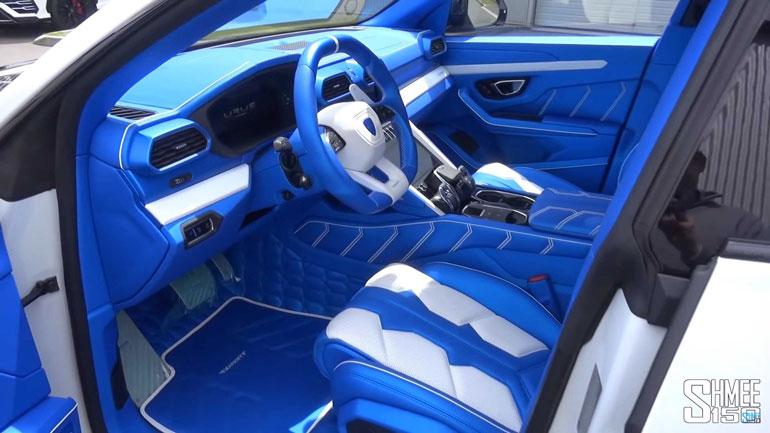 Ателье Mansory представило дикий Lamborghini Urus 2