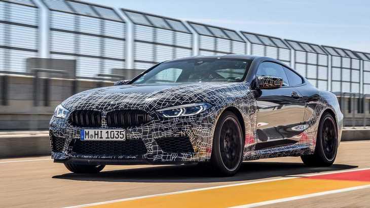 Новая М8 от BMW замахнулась на рекорд Нюрбургринга 1