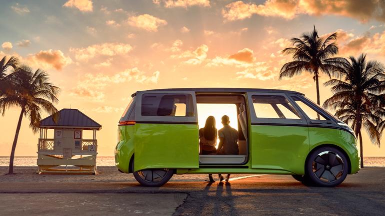 Volkswagen показал, как будет выглядеть жизнь с новым ID Buzz 1