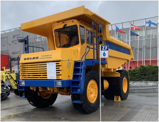 «БелАЗ» выпустил 45-тонник, отвечающий эконормам Stage 5 1