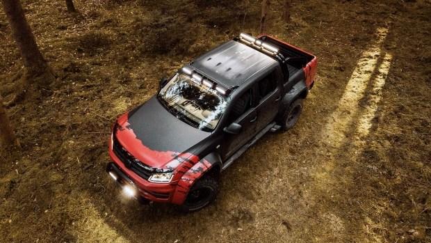 Немцы представили экстремальный вариант пикапа VW Amarok 2