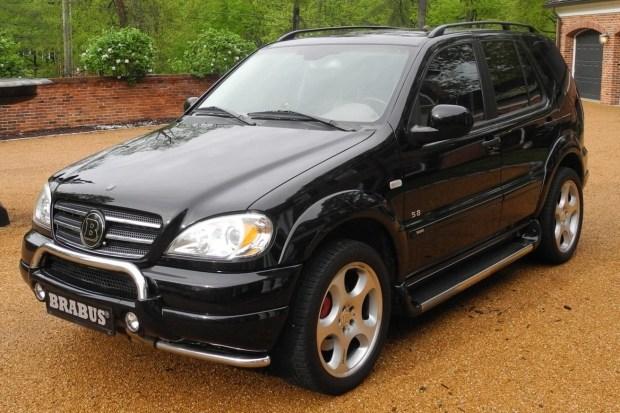 В США продают редчайший Mercedes ML Brabus за 4500 долларов 1