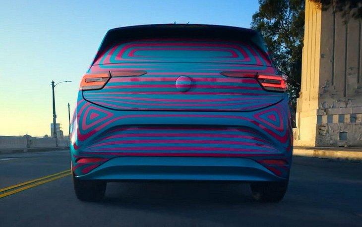 Volkswagen показал показал ID Hatch в камуфляже перед стартом продаж 1