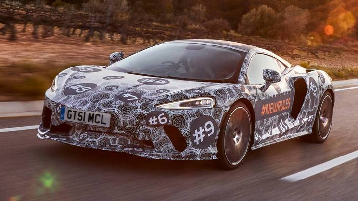 McLaren обьявил дату официальной премьеры новейшего суперкара Grand Tourer 1