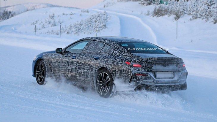 BMW выпустила первый тизер 8 Series Gran Coupe 3