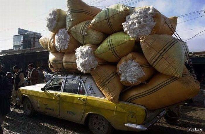 Волга такси – невероятная эксплуатация в Афганистане 2