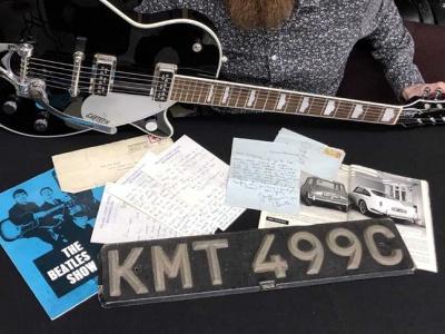 Номерной знак с «Астон Мартина» одного из «битлов» продадут на аукционе 1