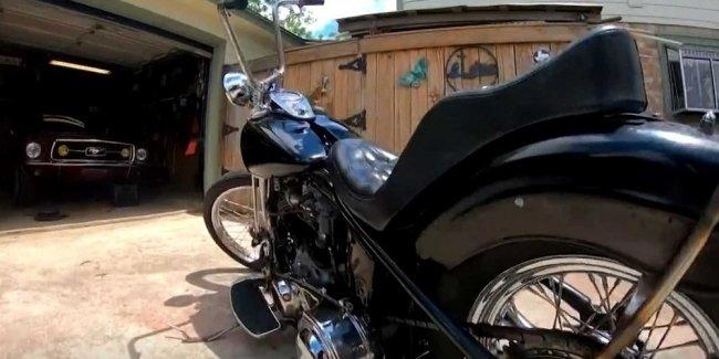 Украденный мотоцикл нашли спустя 48 лет 1