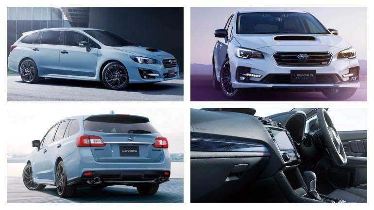 Subaru представлен «заряженный» универсал Levorg STI Sport 2