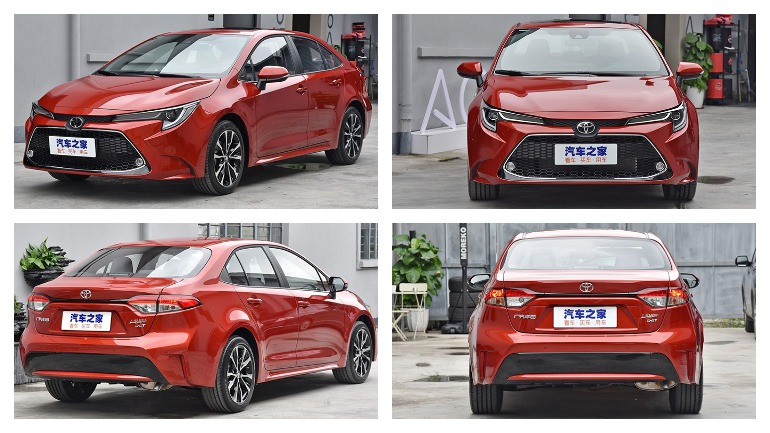 Альтернативная версия Toyota Corolla 2019 стала спортивнее 2